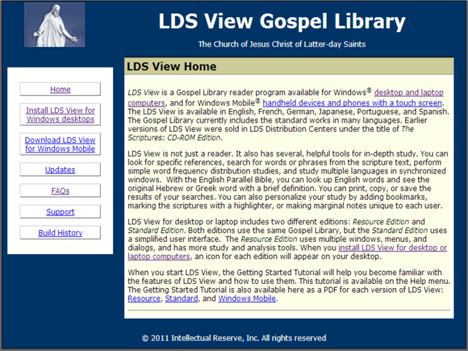 LDS View Gospel Library