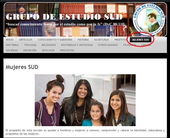 Mujeres SUD